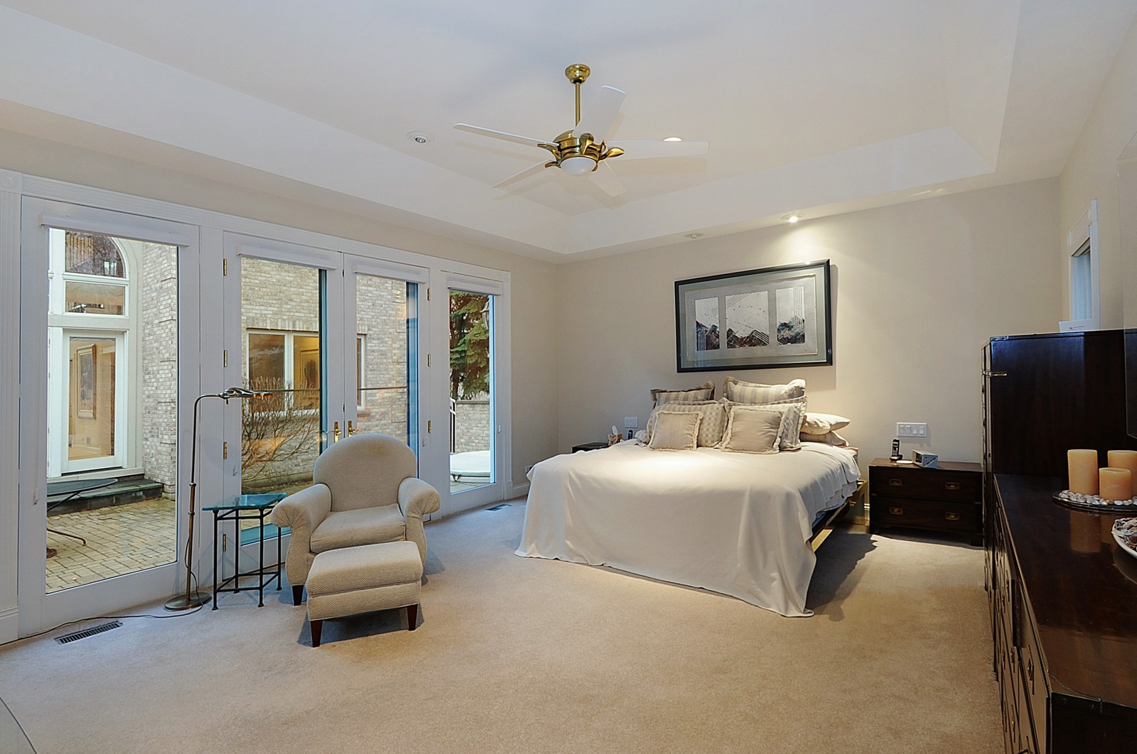 Real Estate Photography - 2516 Jasper Ct, Northbrook, IL, 60062 - Master Bedroom