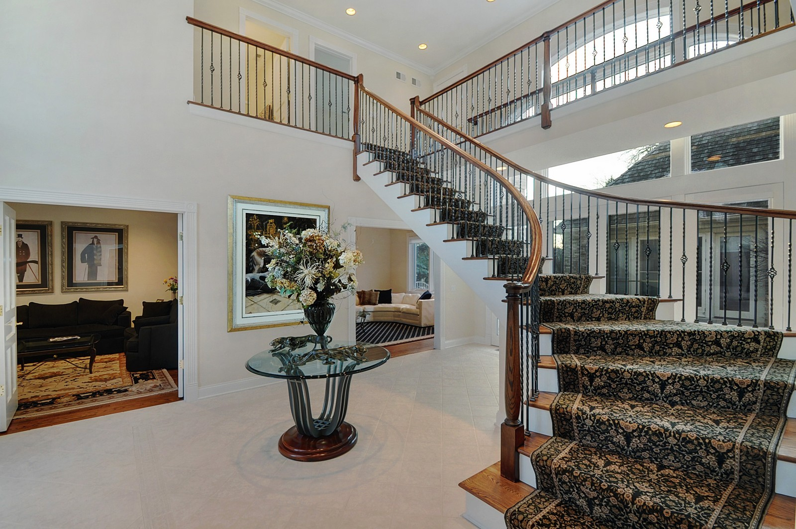 Real Estate Photography - 2516 Jasper Ct, Northbrook, IL, 60062 - Foyer