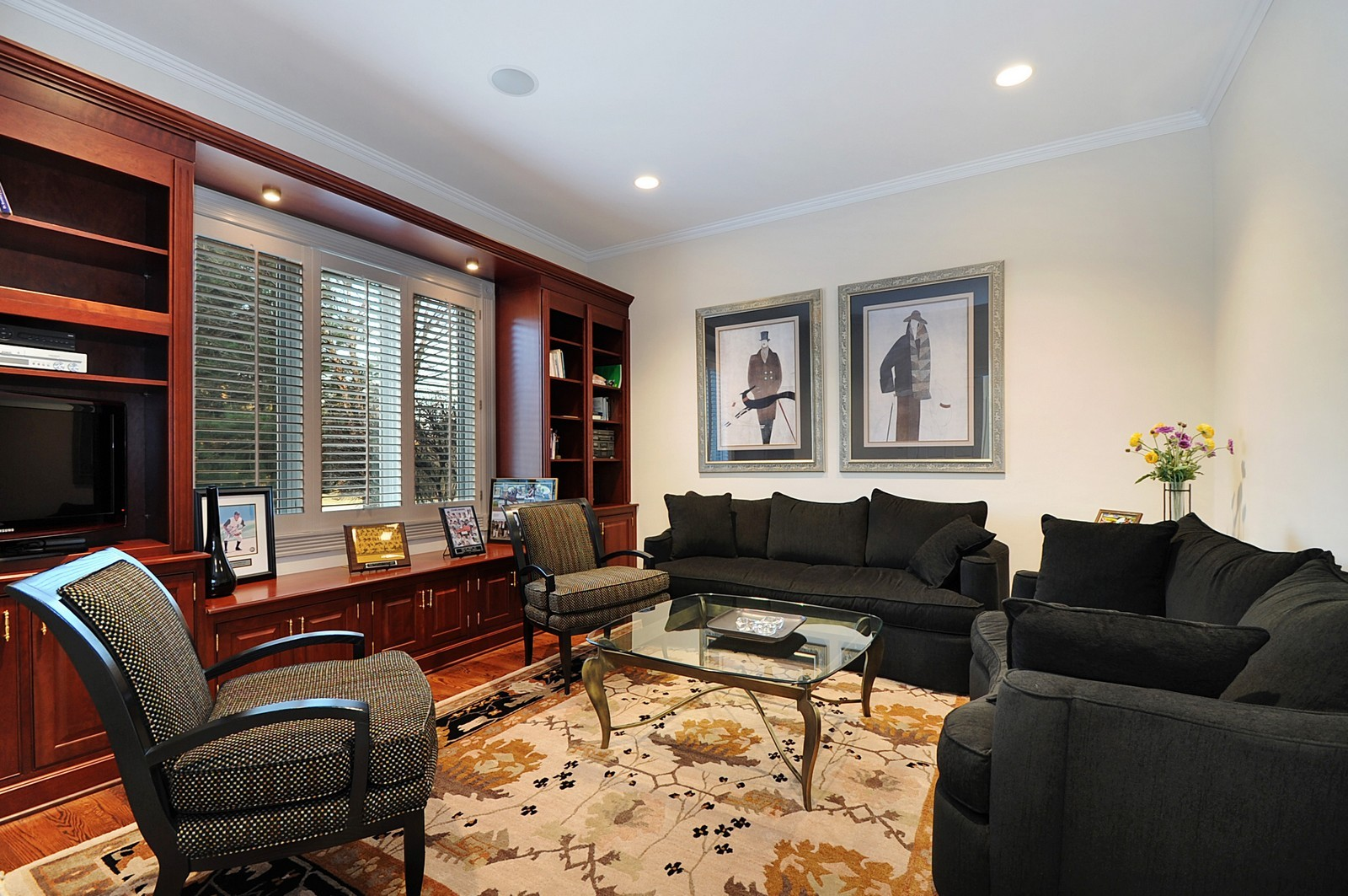 Real Estate Photography - 2516 Jasper Ct, Northbrook, IL, 60062 - Office