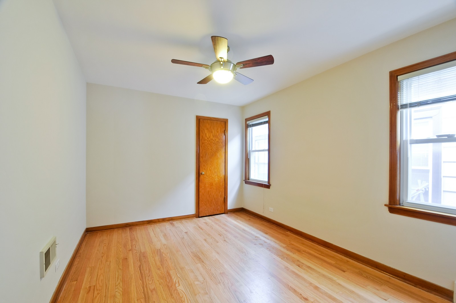 Real Estate Photography - 5457 W Schubert, Unit 1, Chicago, IL, 60639 - Bedroom