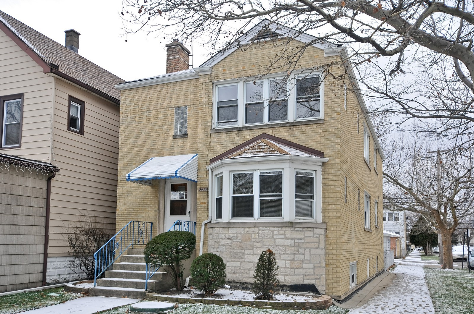 Real Estate Photography - 5457 W Schubert, Unit 1, Chicago, IL, 60639 - Front View