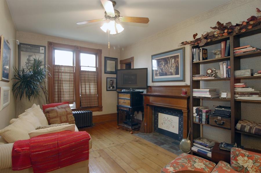 Real Estate Photography - 118 Raymond Ave, Barrington, IL, 60010 - Main Floor Third Bedroom or Study