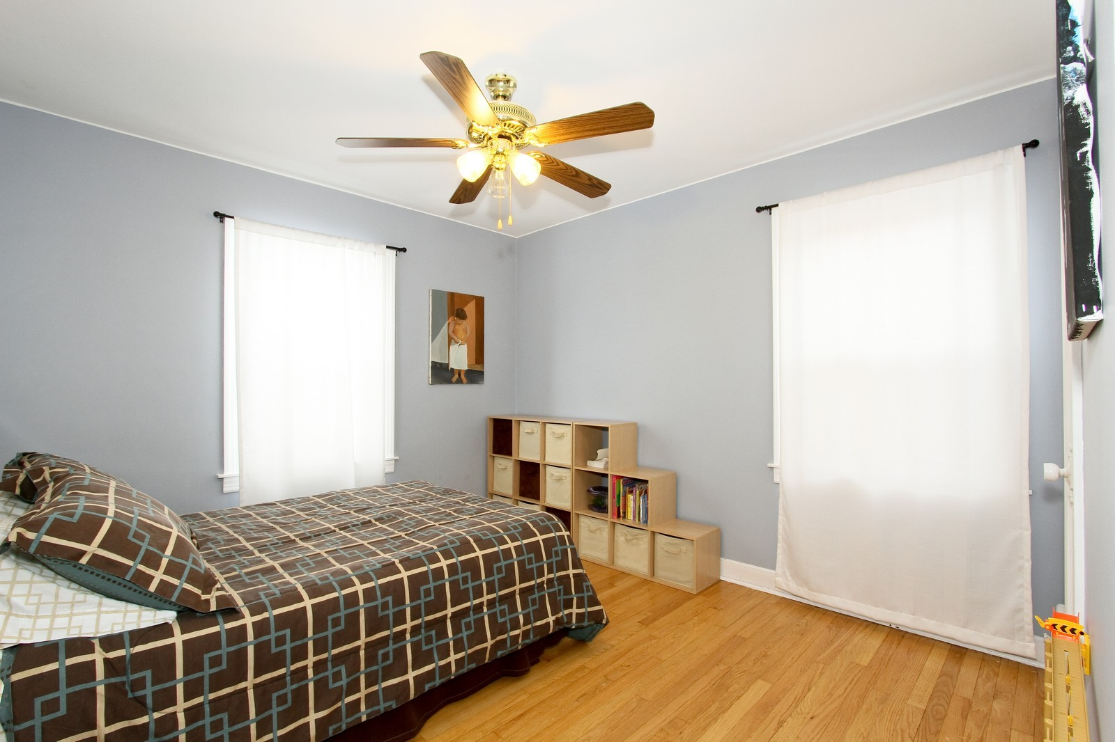 Real Estate Photography - 6053 S Menard Ave, Chicago, IL, 60638 - 3rd Bedroom
