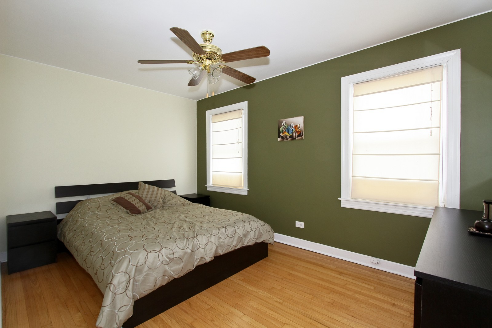 Real Estate Photography - 6053 S Menard Ave, Chicago, IL, 60638 - Bedroom