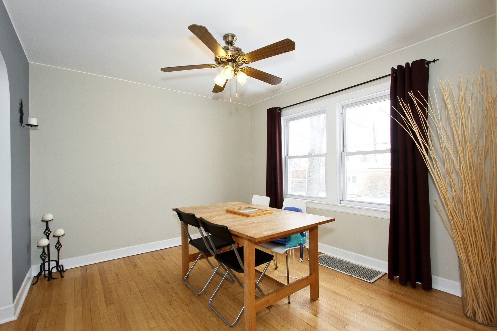 Real Estate Photography - 6053 S Menard Ave, Chicago, IL, 60638 - Dining Room