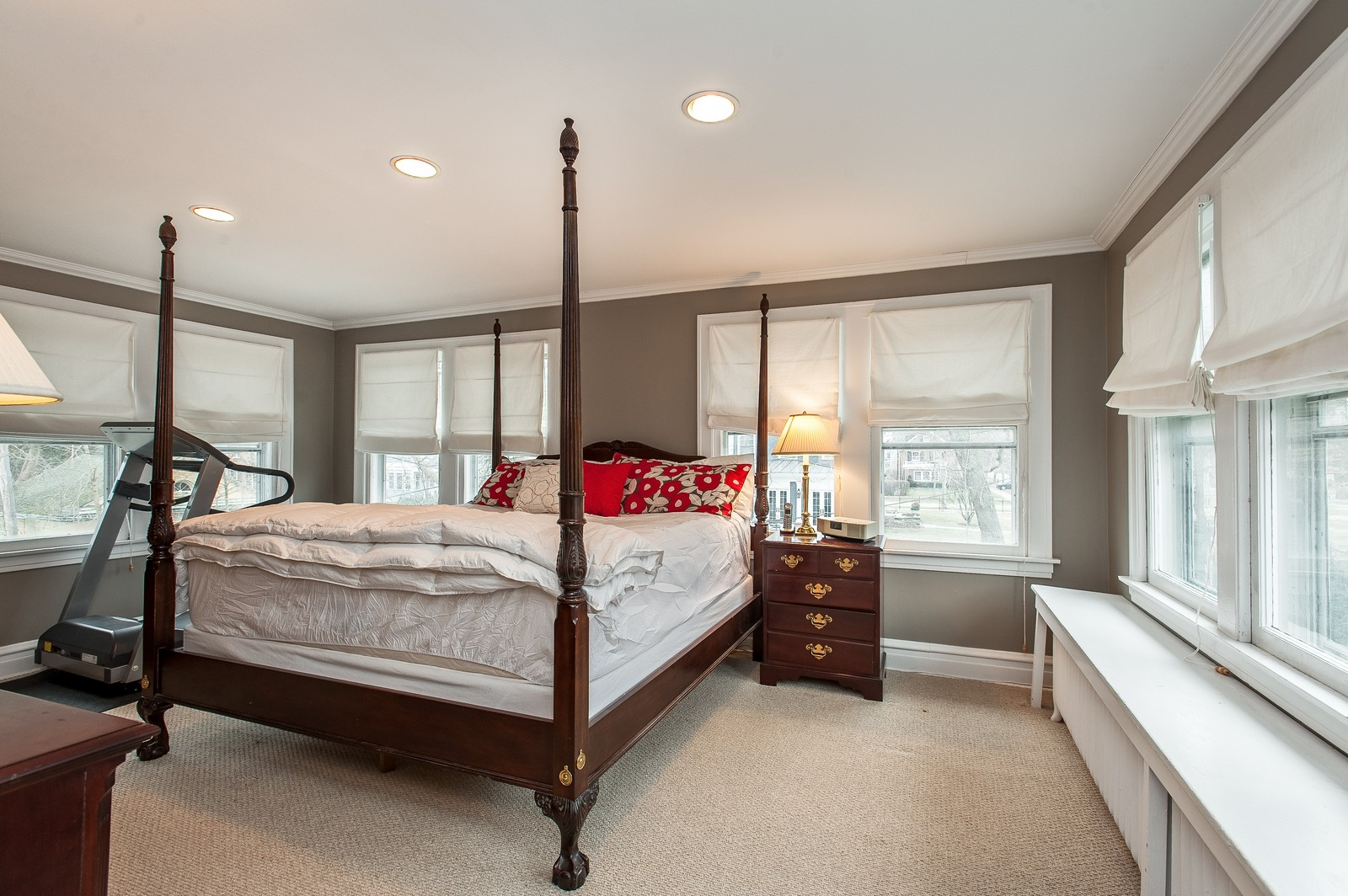 Real Estate Photography - 1018 10th St, Wilmette, IL, 60091 - Master Bedroom