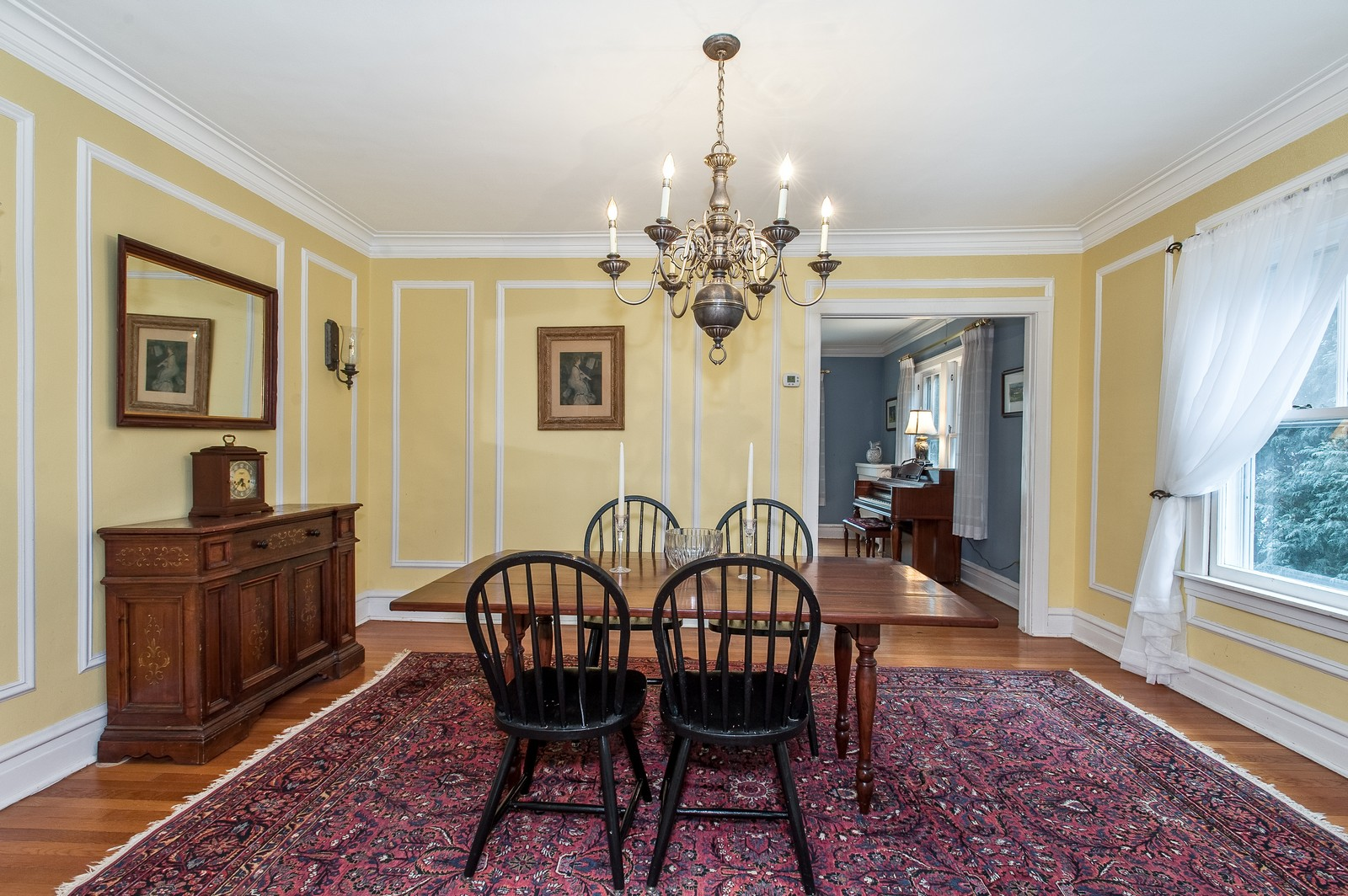 Real Estate Photography - 1018 10th St, Wilmette, IL, 60091 - Dining Room