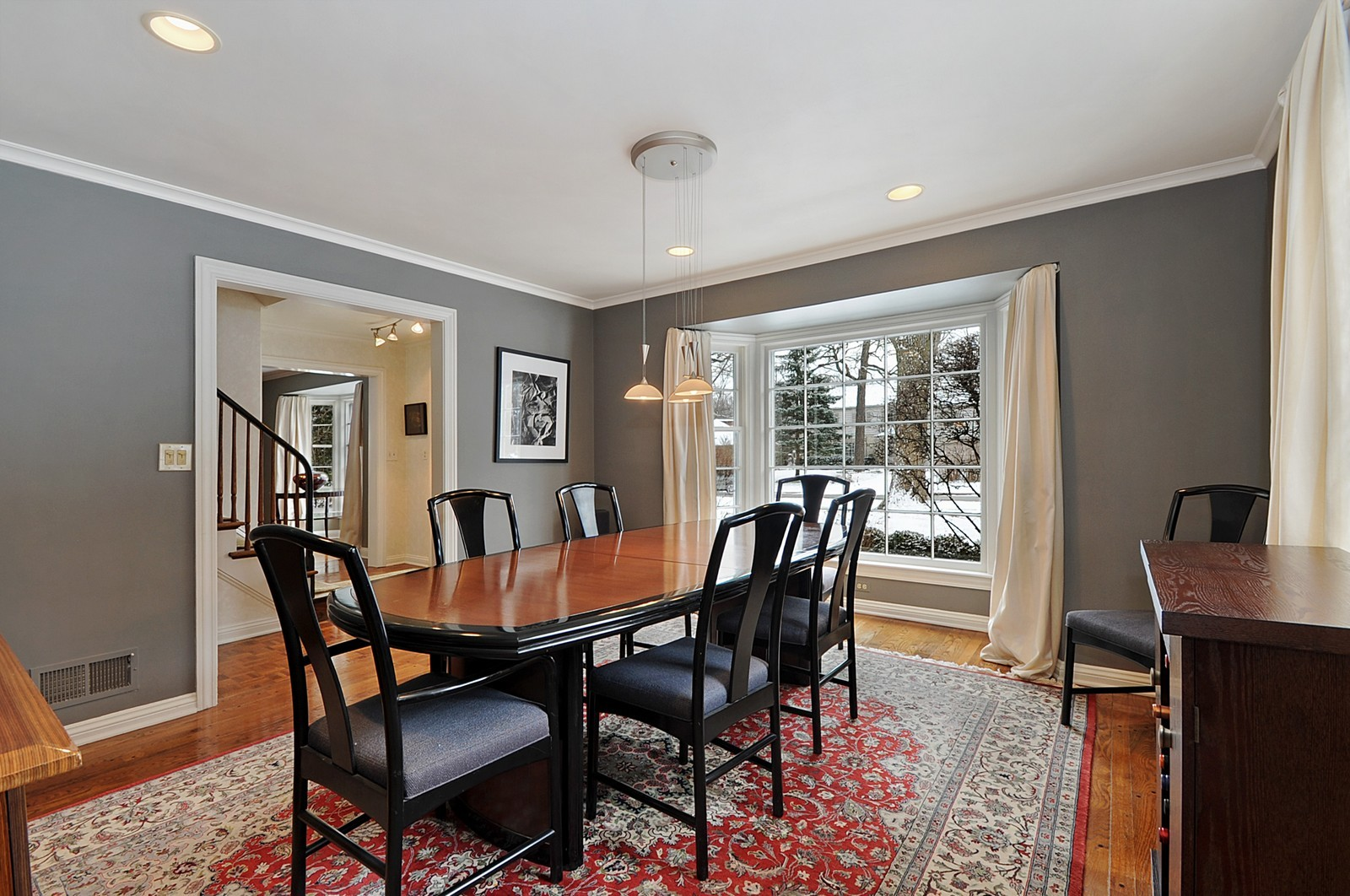 Real Estate Photography - 178 Indian Tree, Highland Park, IL, 60035 - Dining Room