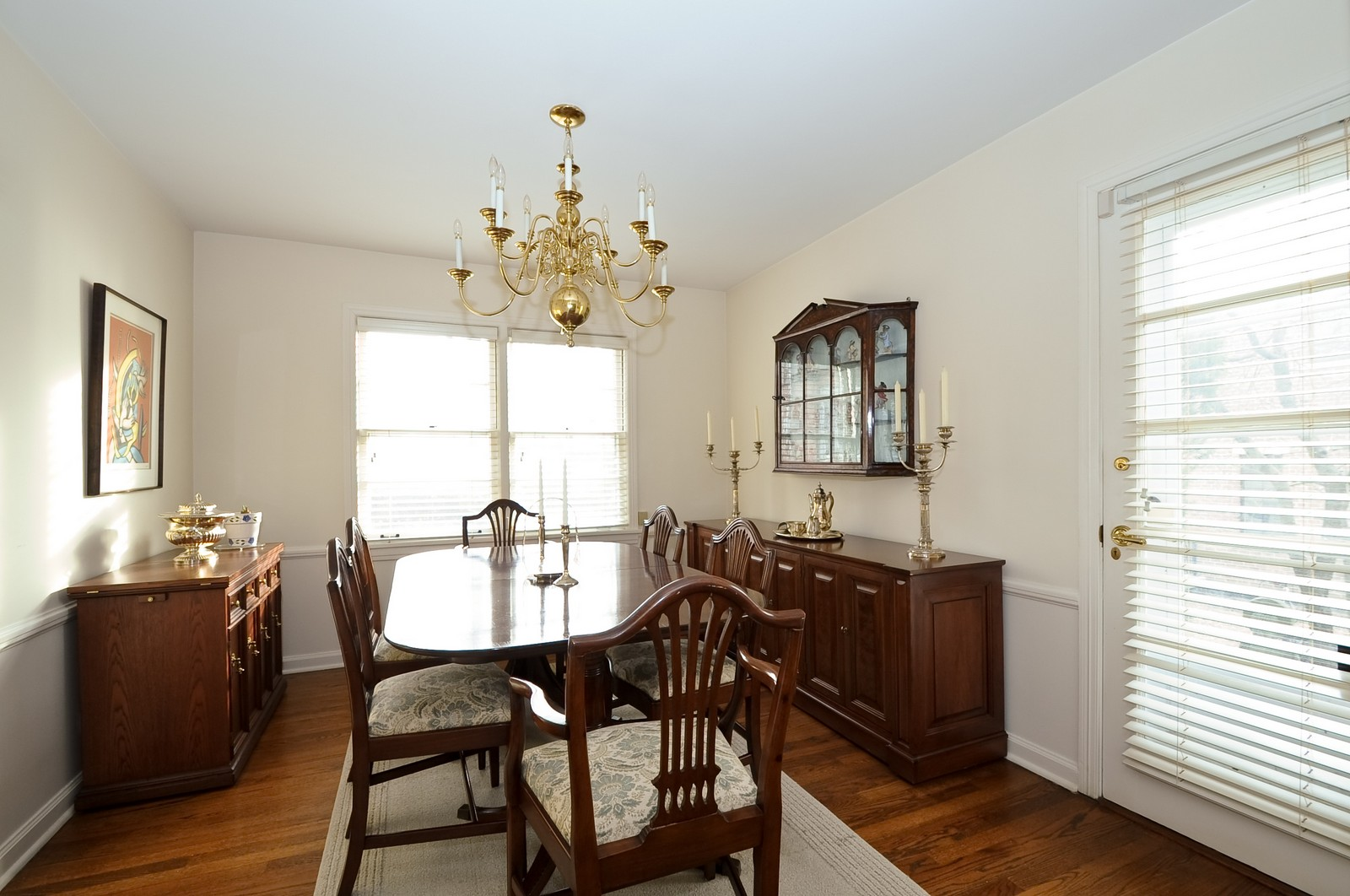 Real Estate Photography - 930 Bob O Link, Highland Park, IL, 60035 - Dining Room