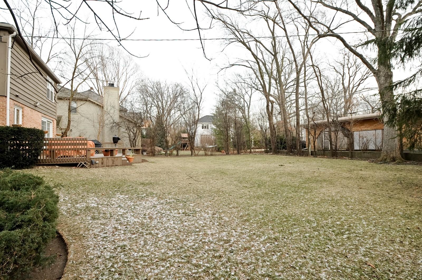 Real Estate Photography - 930 Bob O Link, Highland Park, IL, 60035 - Back Yard