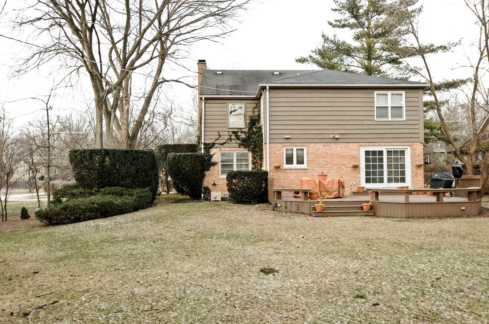 Real Estate Photography - 930 Bob O Link, Highland Park, IL, 60035 - Rear View
