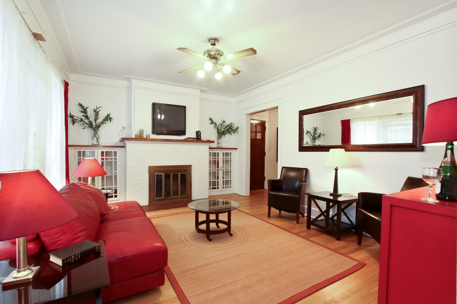 Real Estate Photography - 1648 E 54th St, Chicago, IL, 60615 - Living Room