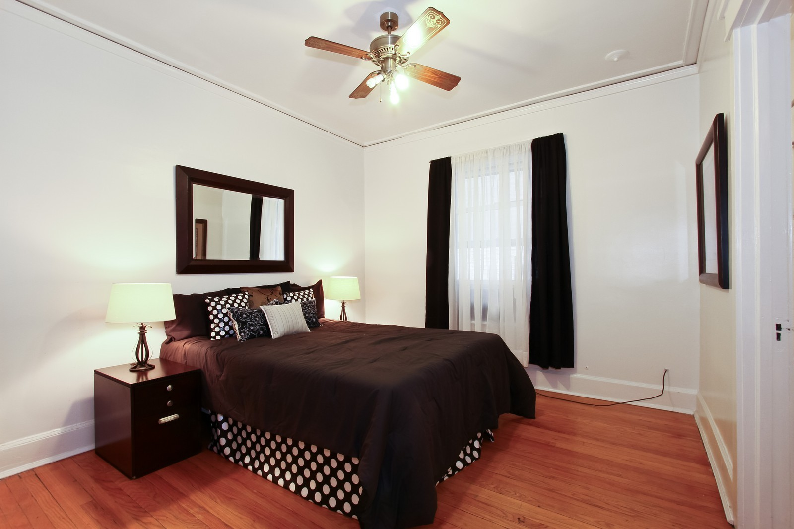 Real Estate Photography - 1648 E 54th St, Chicago, IL, 60615 - Bedroom