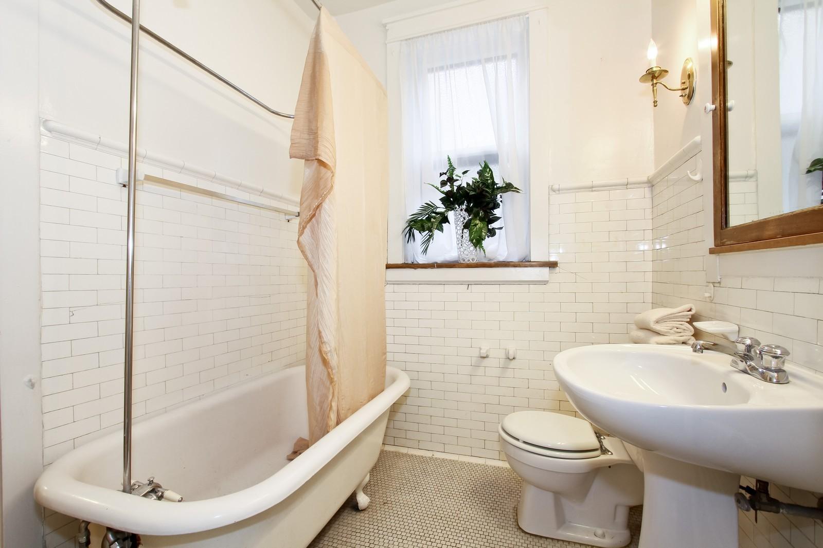 Real Estate Photography - 1648 E 54th St, Chicago, IL, 60615 - Bathroom