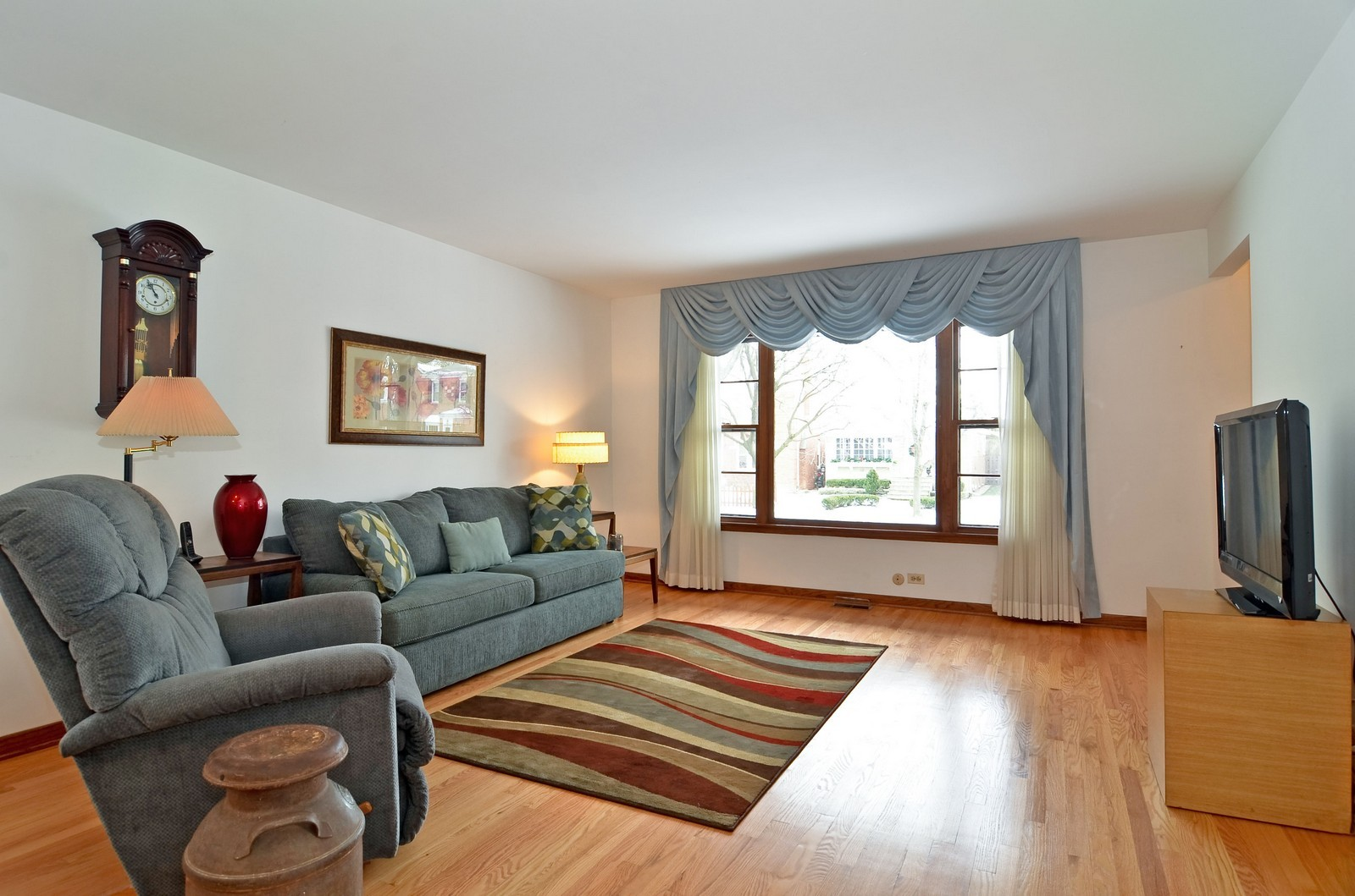 Real Estate Photography - 7070 Mason, Chicago, IL, 60646 - Living Room