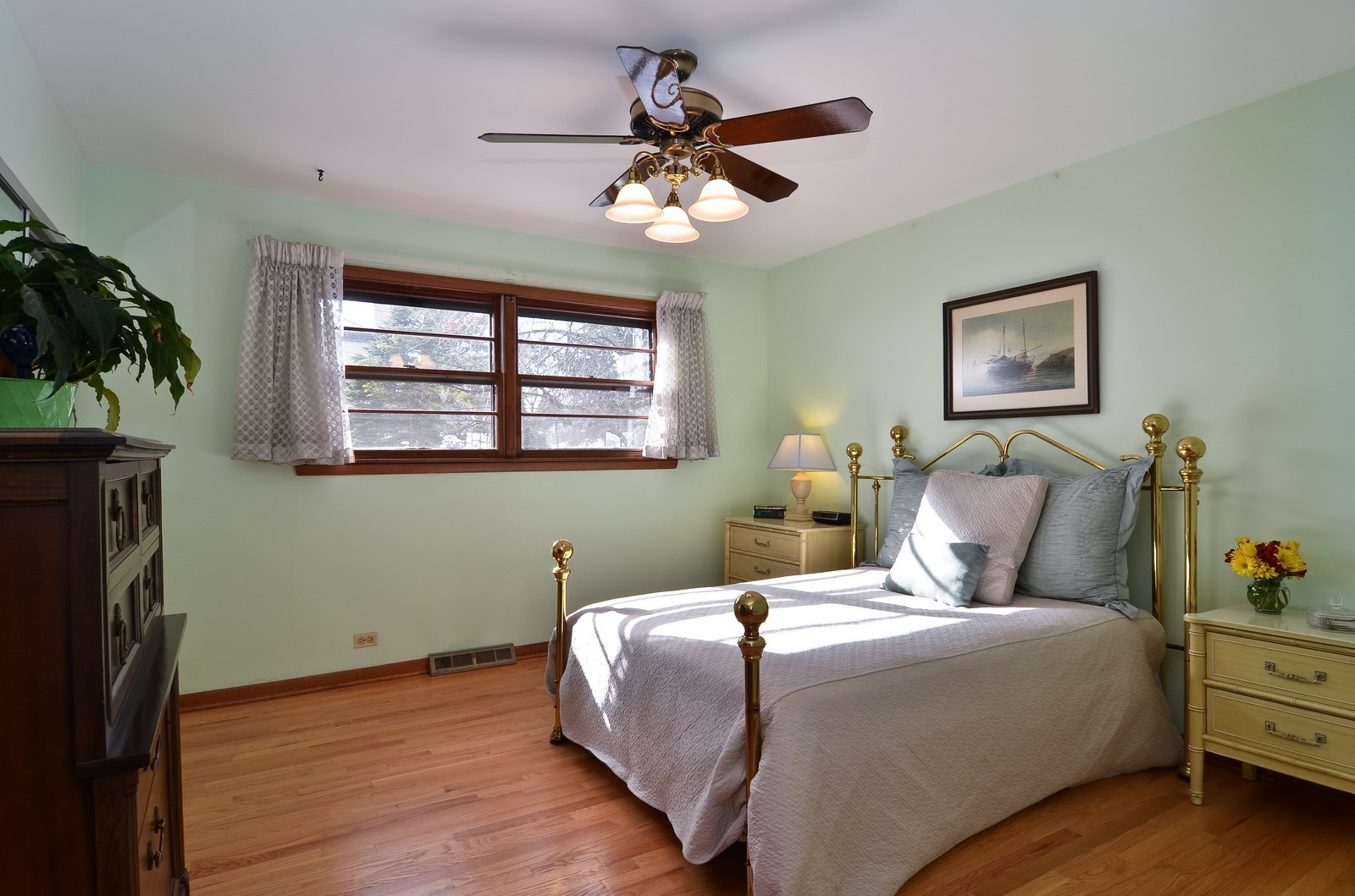 Real Estate Photography - 7070 Mason, Chicago, IL, 60646 - 2nd Bedroom