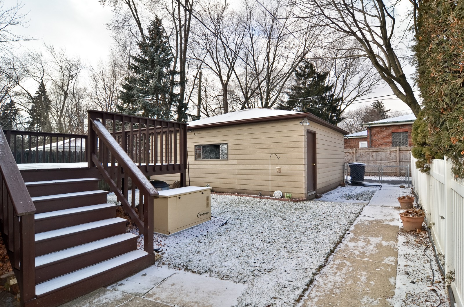 Real Estate Photography - 7070 Mason, Chicago, IL, 60646 - Back Yard