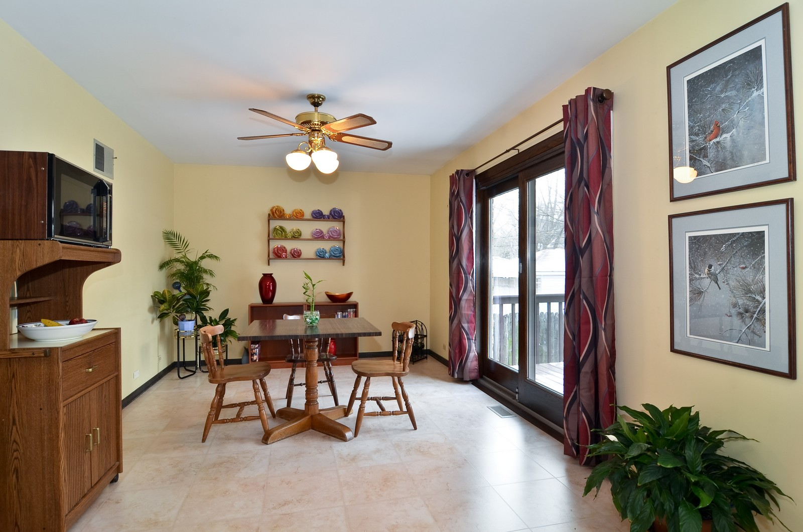 Real Estate Photography - 7070 Mason, Chicago, IL, 60646 - Breakfast Room