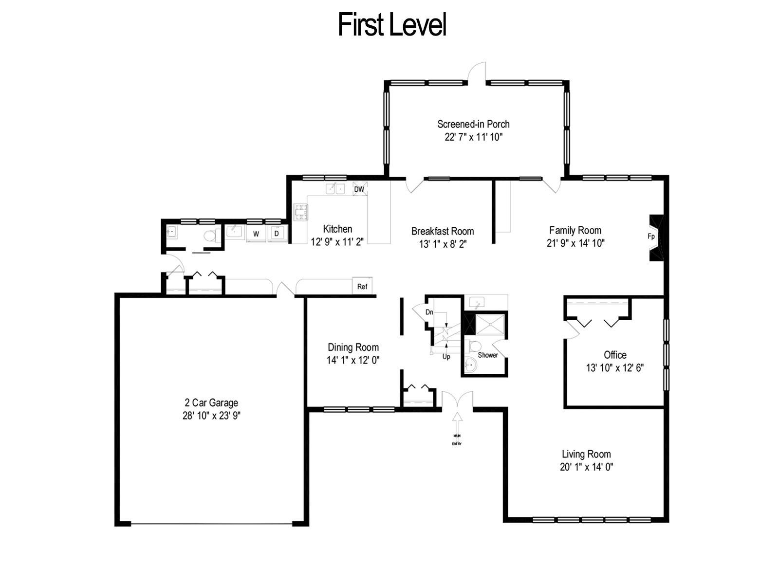 Real Estate Photography - 11554 Ridgewood Lane, Burr Ridge, IL, 60527 -