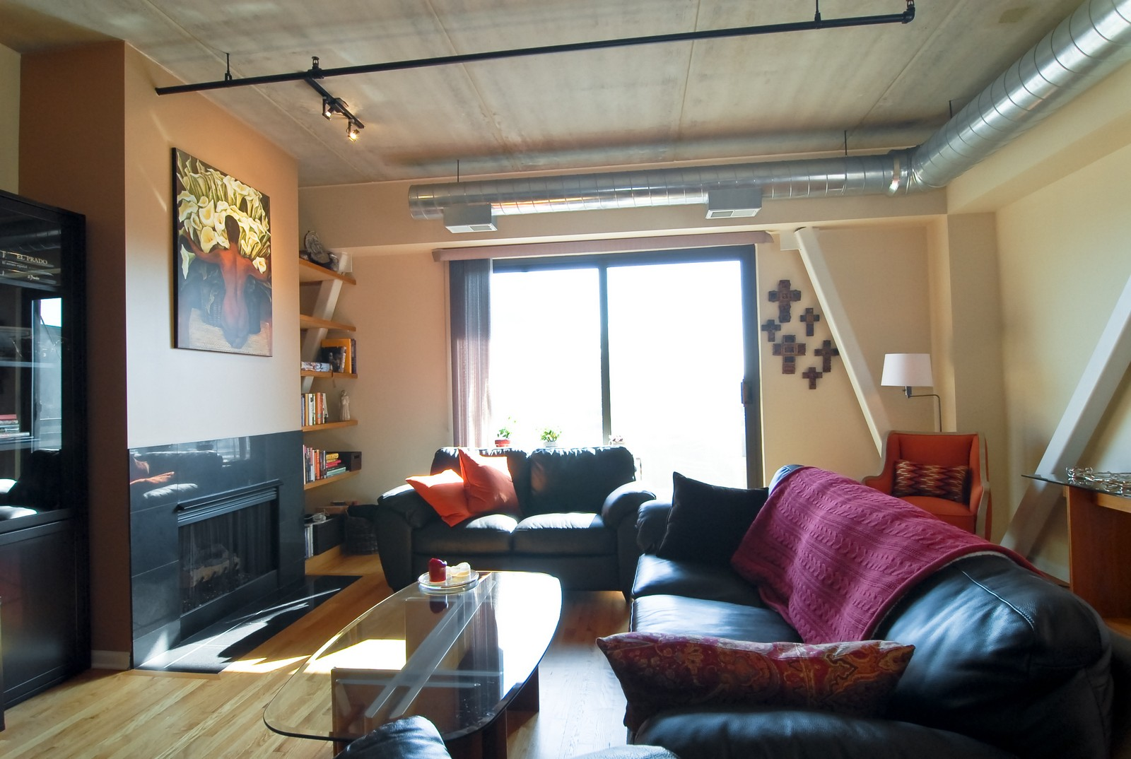 Real Estate Photography - 1735 W Diversey, Unit 210, Chicago, IL, 60657 - Living Room