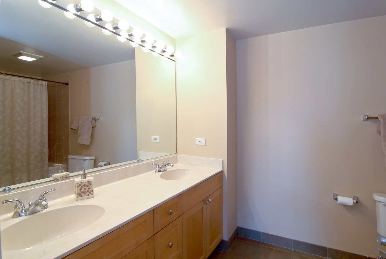 Real Estate Photography - 1735 W Diversey, Unit 210, Chicago, IL, 60657 - Master Bathroom