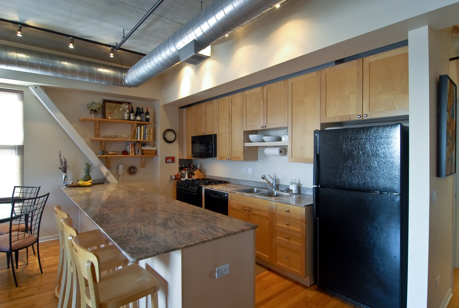 Real Estate Photography - 1735 W Diversey, Unit 210, Chicago, IL, 60657 - Kitchen