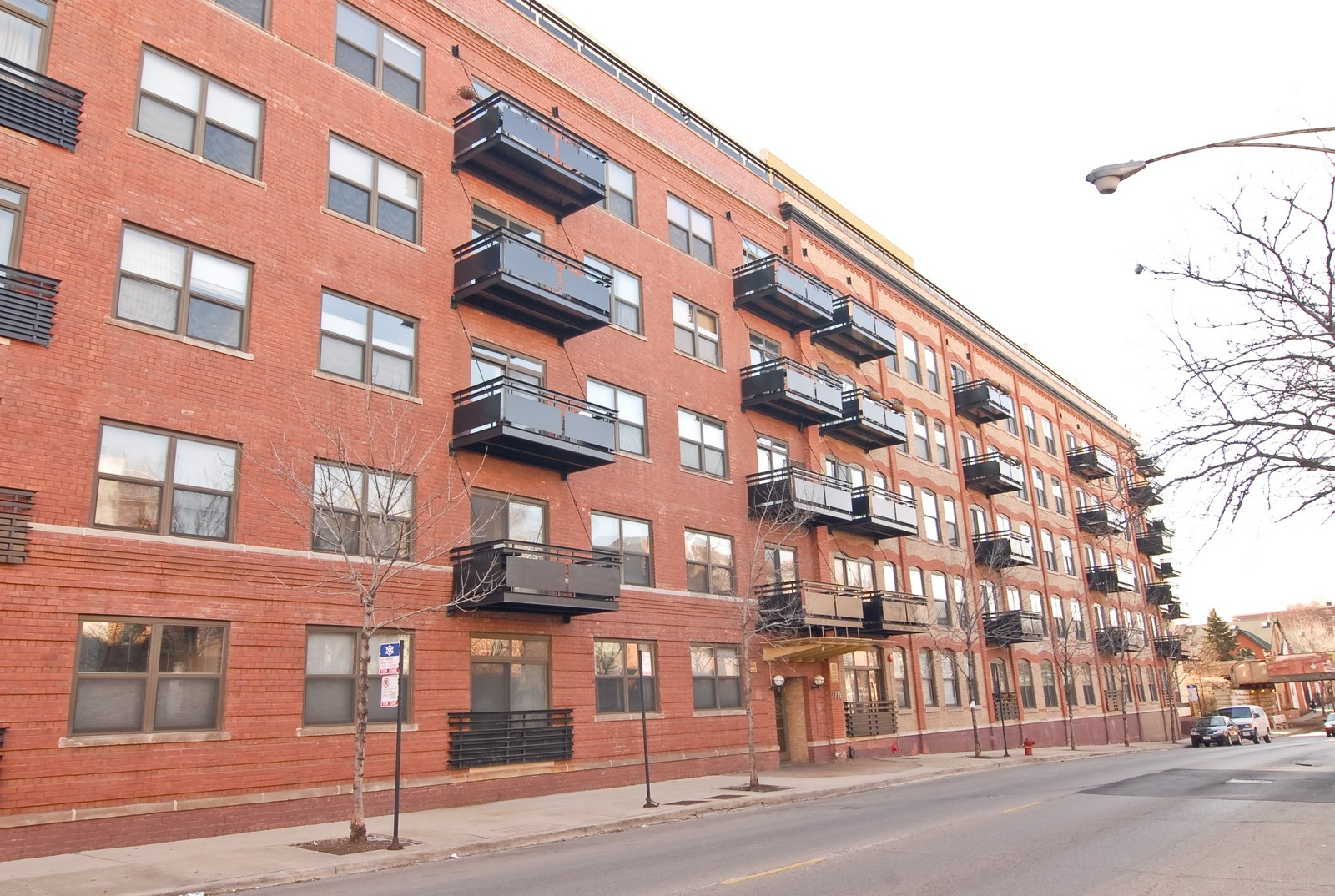 Real Estate Photography - 1735 W Diversey, Unit 210, Chicago, IL, 60657 - Front View