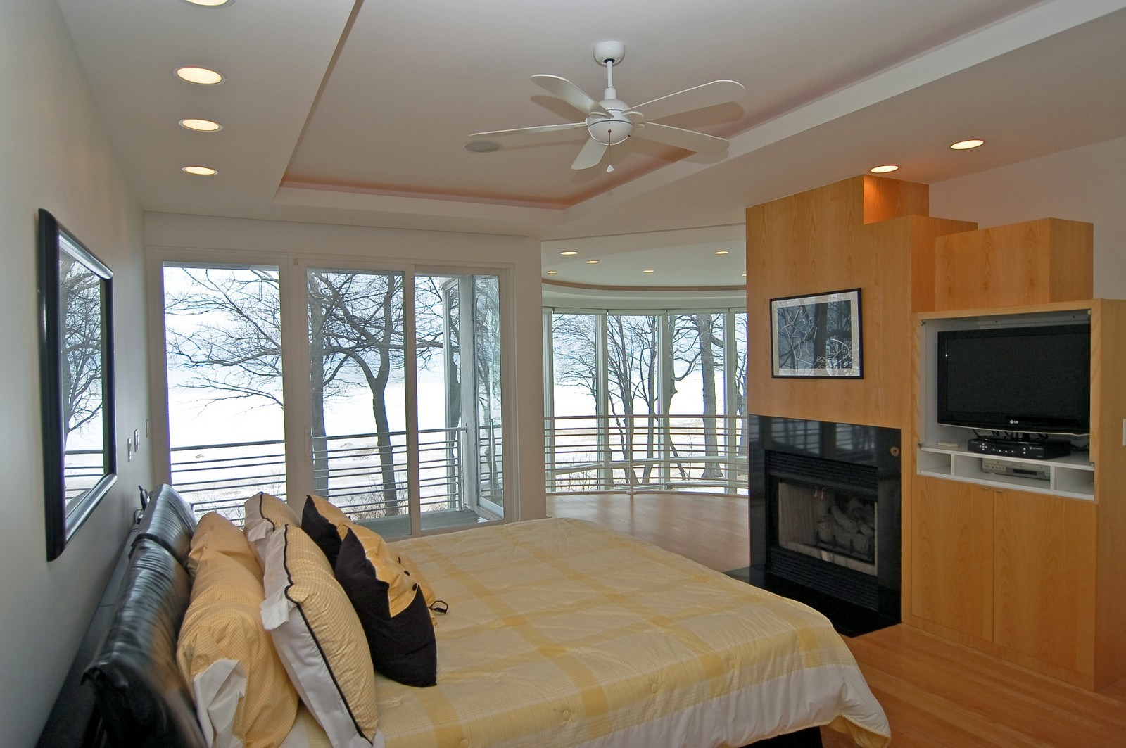 Real Estate Photography - 15930 Lake Ave, Union Pier, MI, 49129 - Master Bedroom