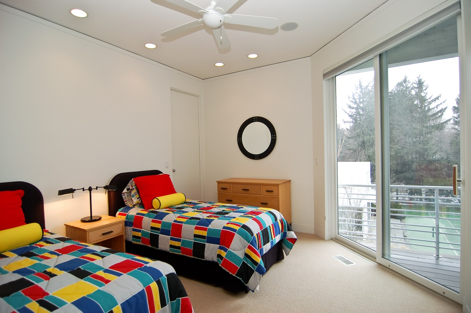 Real Estate Photography - 15930 Lake Ave, Union Pier, MI, 49129 - 2nd Bedroom