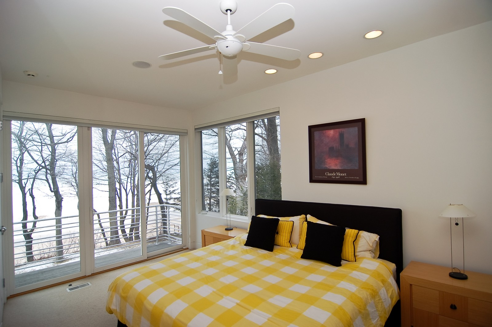 Real Estate Photography - 15930 Lake Ave, Union Pier, MI, 49129 - 3rd Bedroom