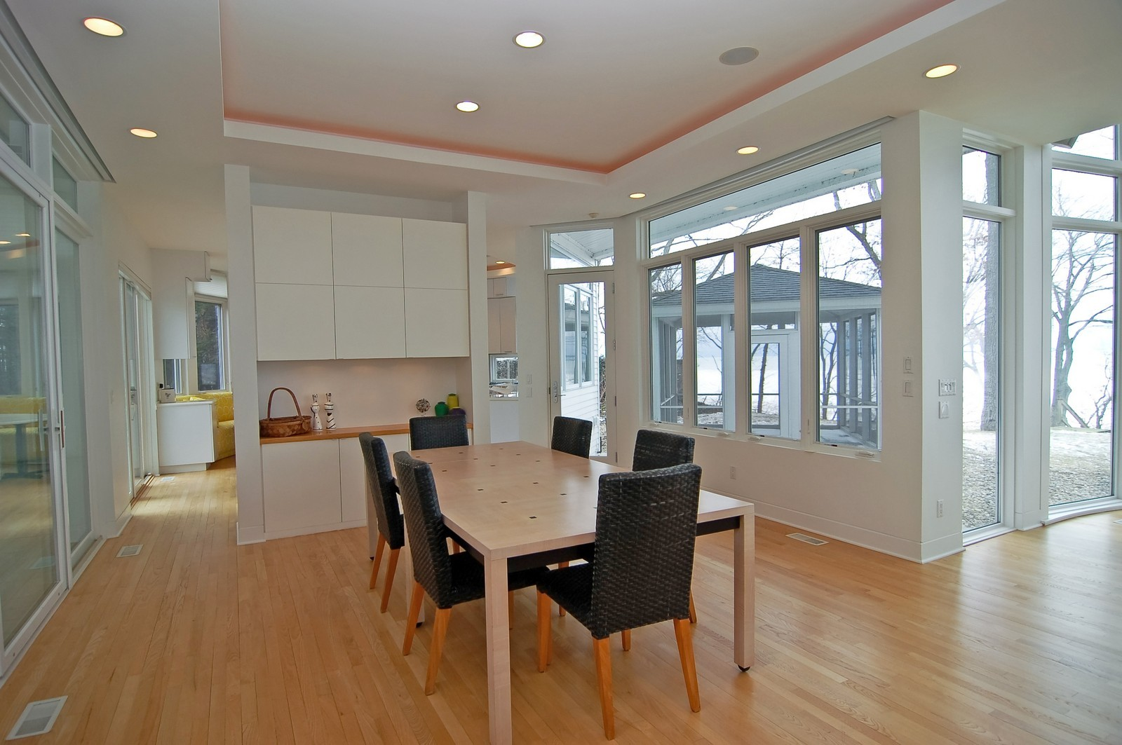 Real Estate Photography - 15930 Lake Ave, Union Pier, MI, 49129 - Dining Room