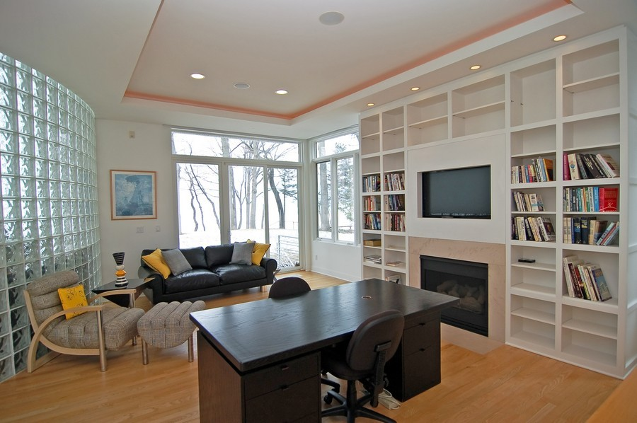 Real Estate Photography - 15930 Lake Ave, Union Pier, MI, 49129 - Office
