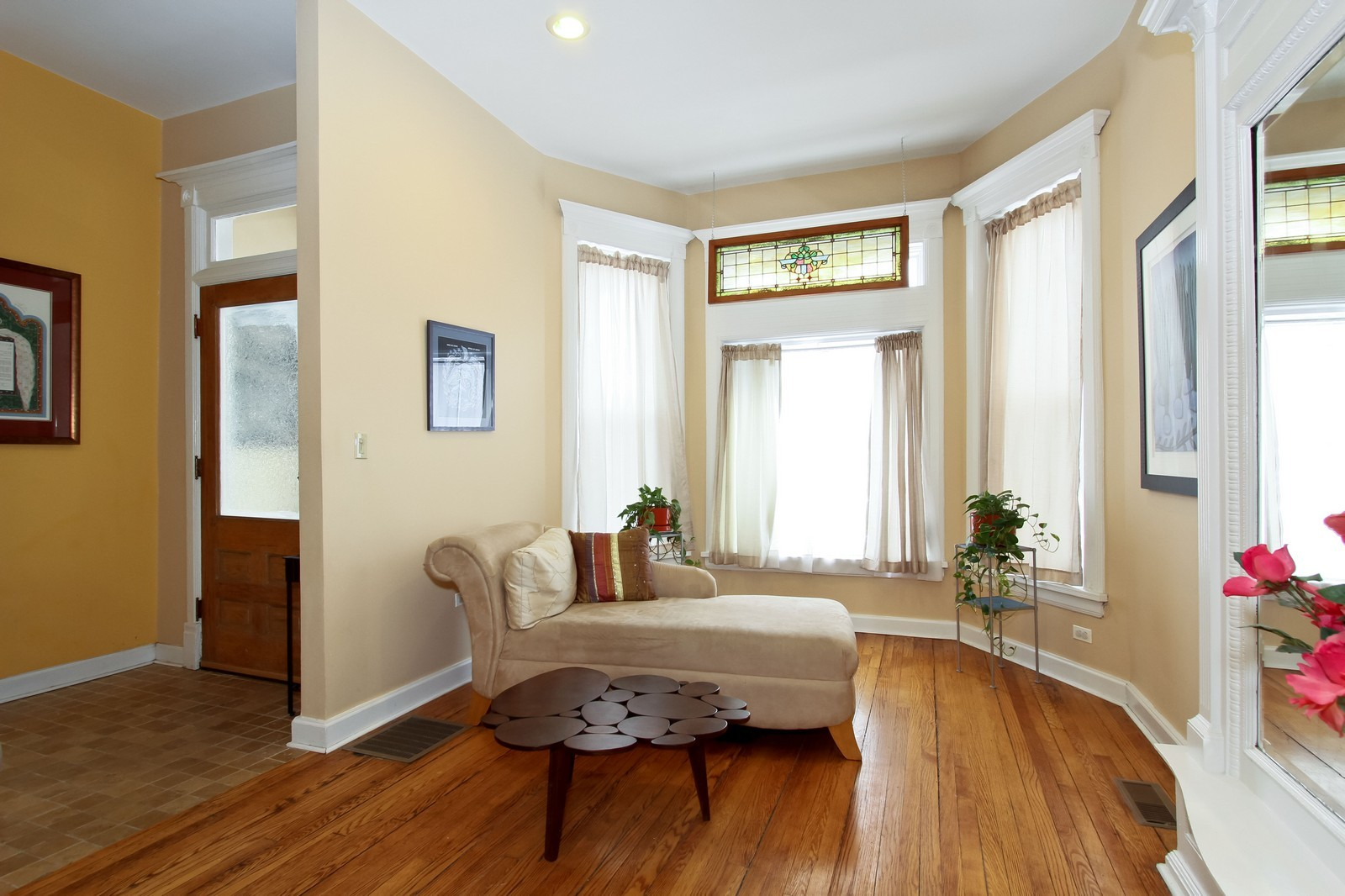 Real Estate Photography - 4805 S Langley, Chicago, IL, 60615 - Living Room