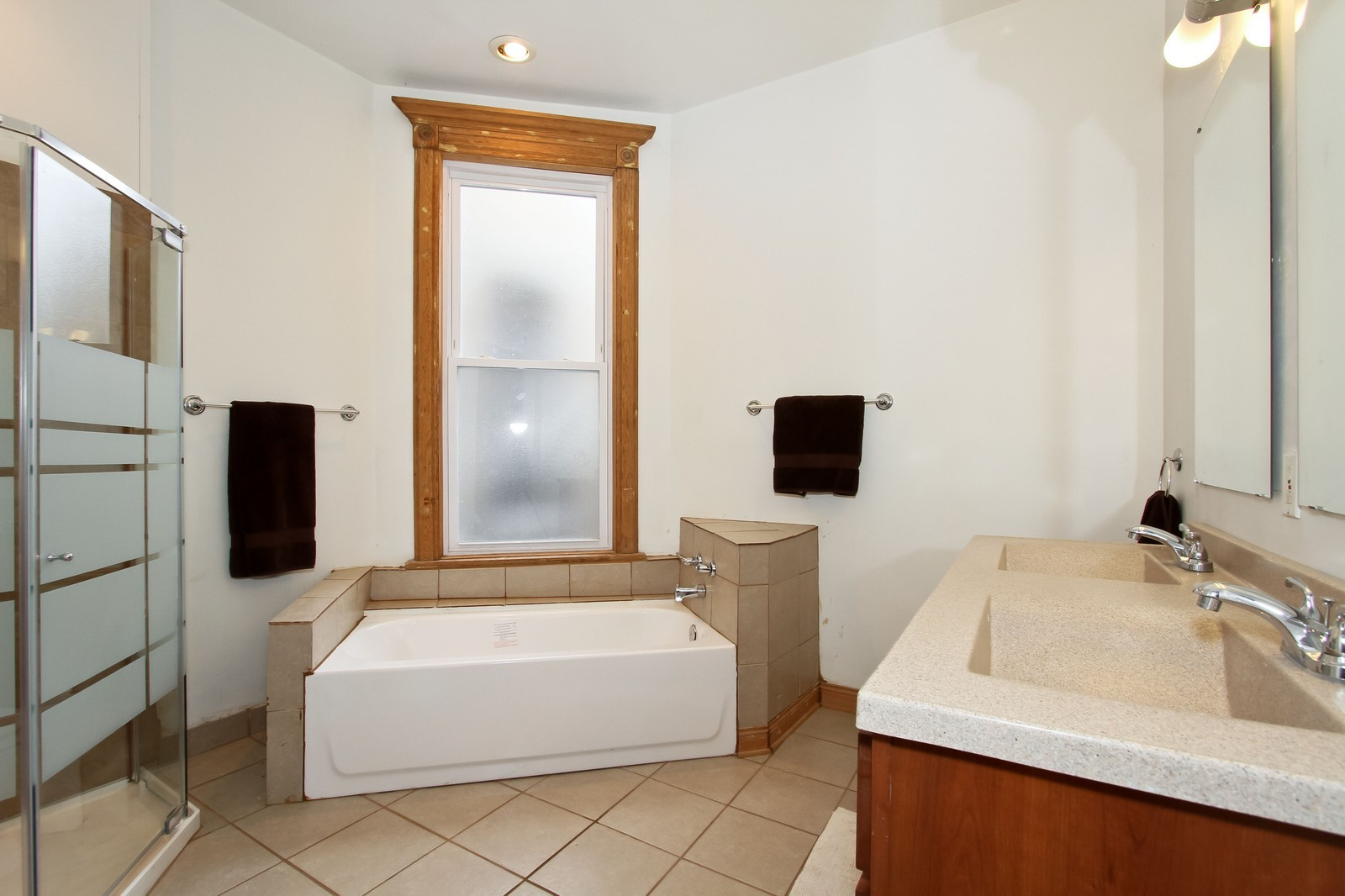 Real Estate Photography - 4805 S Langley, Chicago, IL, 60615 - Master Bathroom