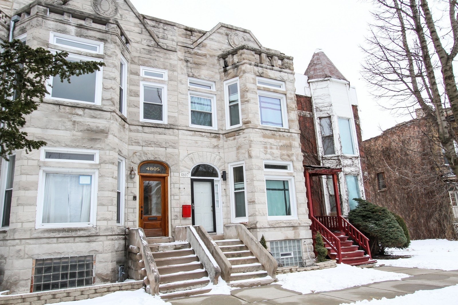 Real Estate Photography - 4805 S Langley, Chicago, IL, 60615 - Front View