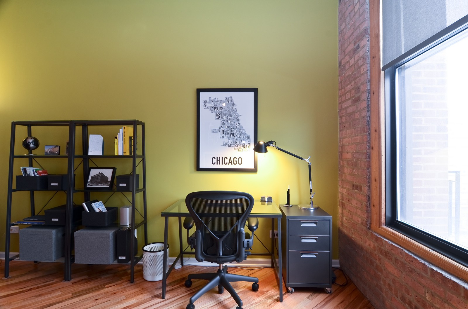 Real Estate Photography - 616 W Fulton, Unit 409, Chicago, IL, 60661 - Office