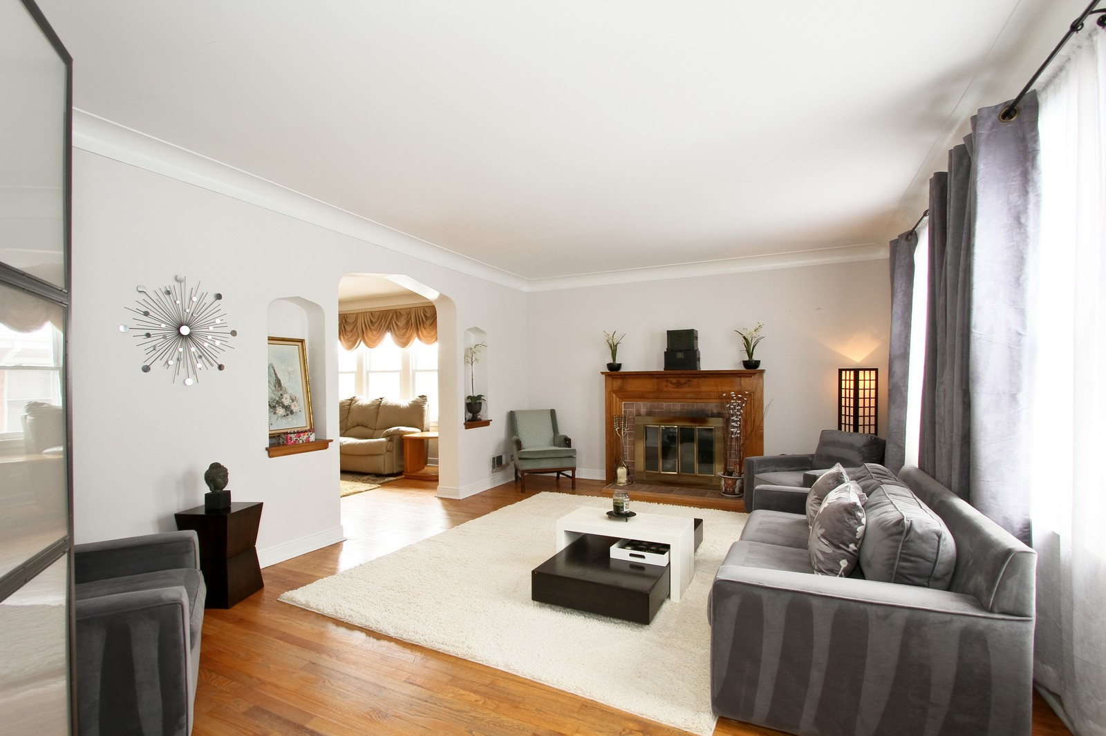 Real Estate Photography - 9209 S Claremont, Chicago, IL, 60643 - Living Room