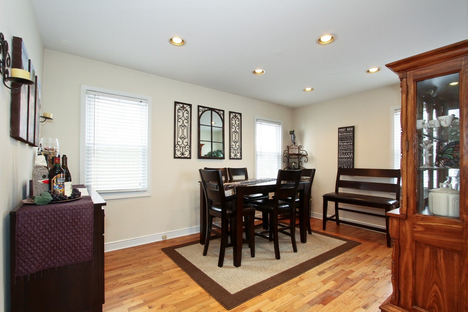 Real Estate Photography - 9209 S Claremont, Chicago, IL, 60643 - Dining Room