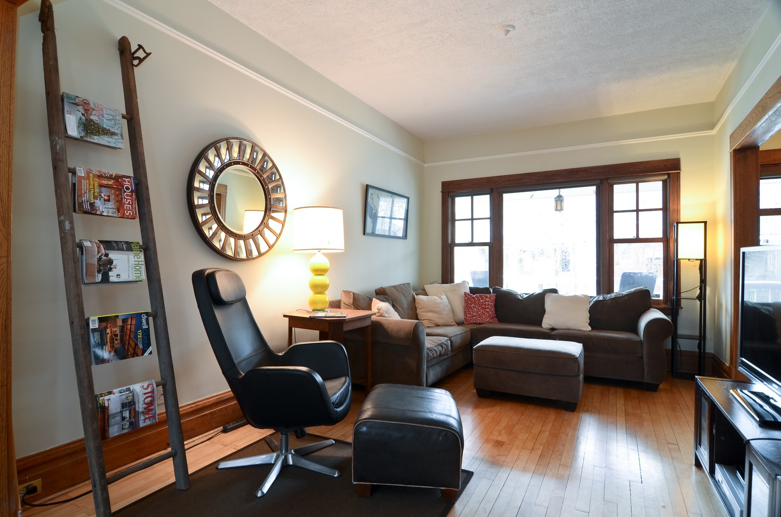 Real Estate Photography - 2519 N St. Louis, Chicago, IL, 60647 - Living Room