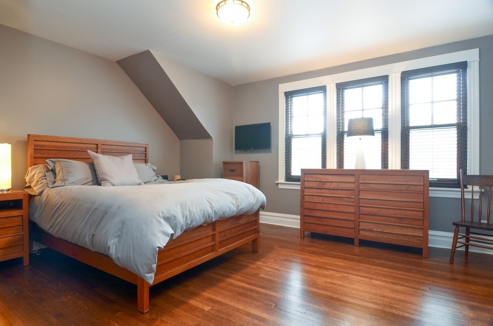Real Estate Photography - 2519 N St. Louis, Chicago, IL, 60647 - Master Bedroom