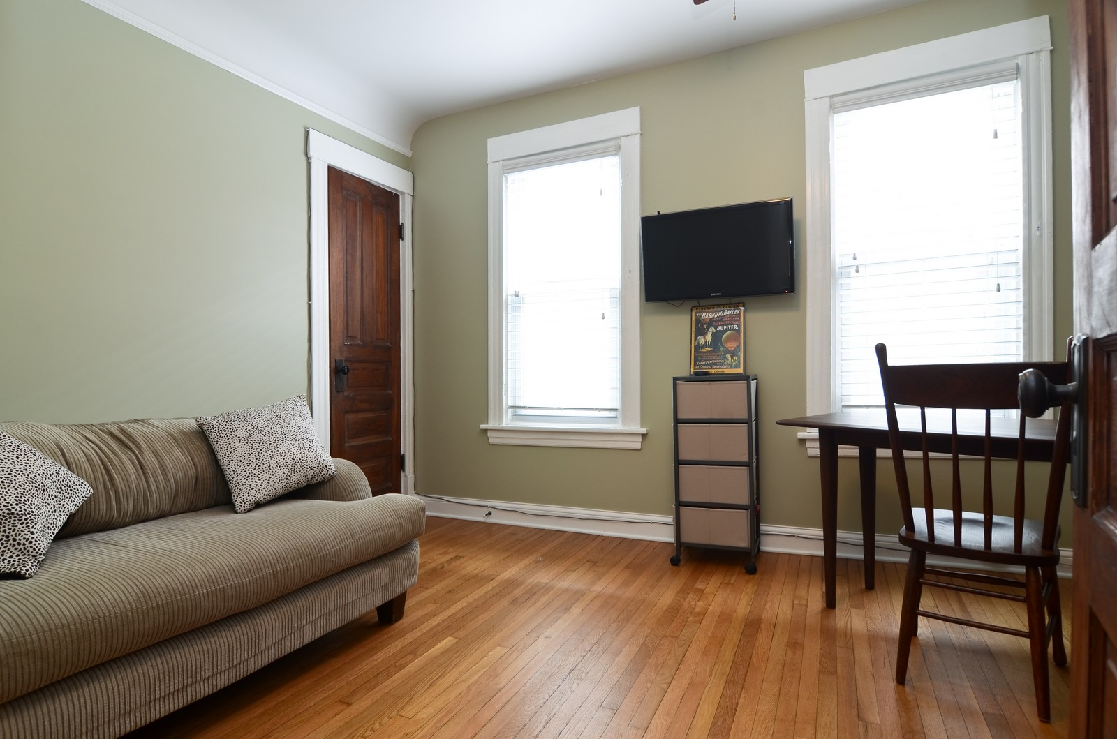 Real Estate Photography - 2519 N St. Louis, Chicago, IL, 60647 - 2nd Bedroom