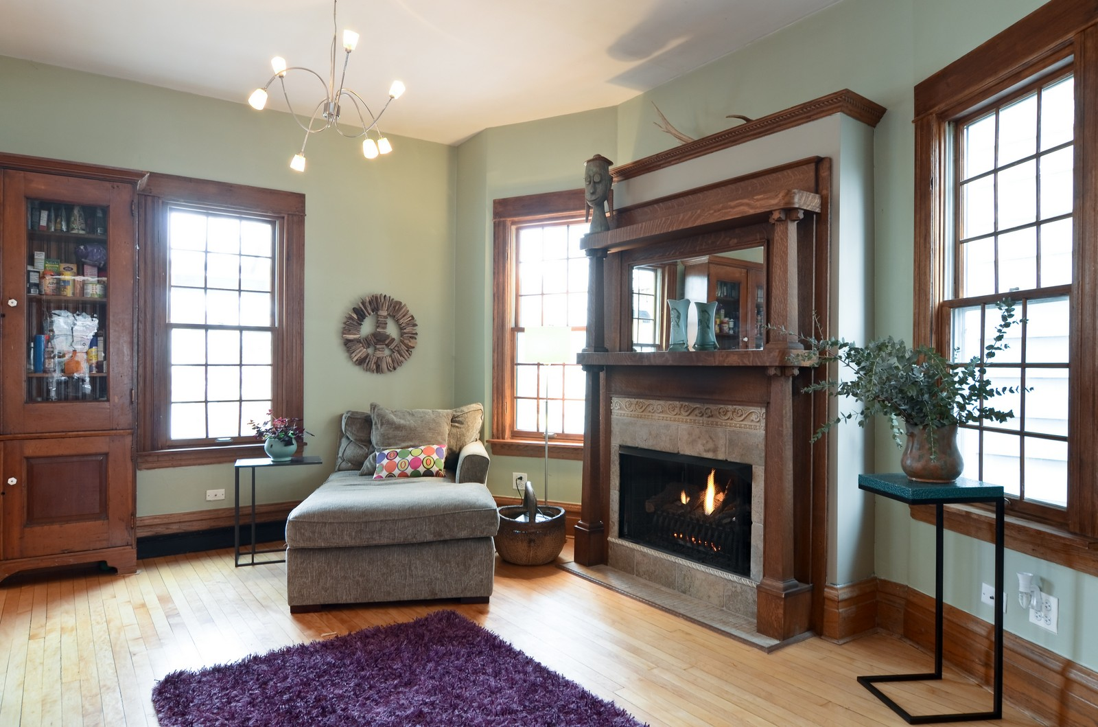 Real Estate Photography - 2519 N St. Louis, Chicago, IL, 60647 - Family Room