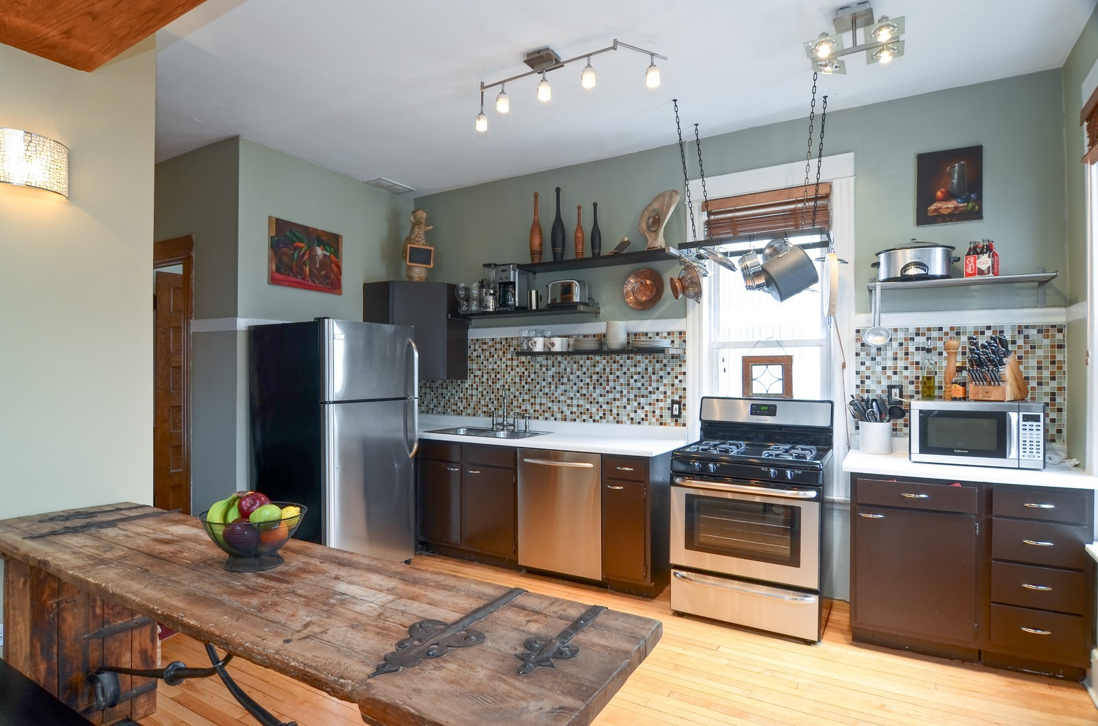 Real Estate Photography - 2519 N St. Louis, Chicago, IL, 60647 - Kitchen