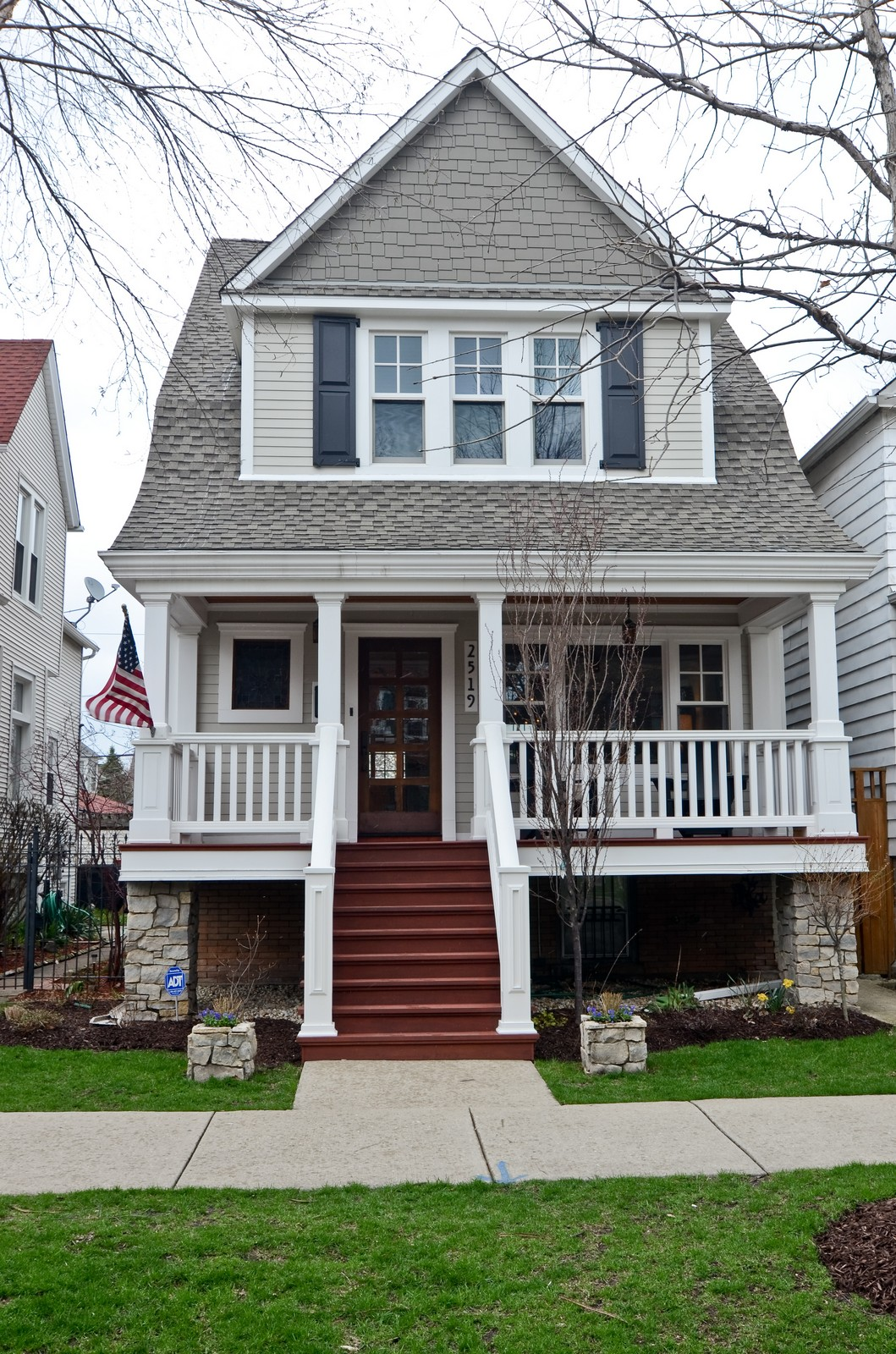 Real Estate Photography - 2519 N St. Louis, Chicago, IL, 60647 - Front View