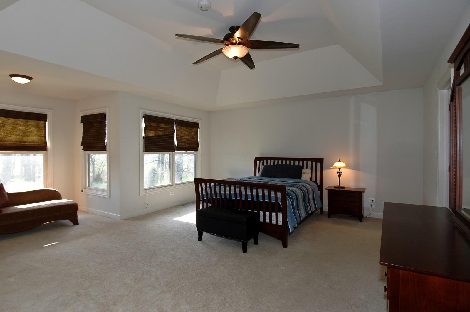 Real Estate Photography - 10575 Oakleaf Lane, Huntley, IL, 60142 - Master Bedroom