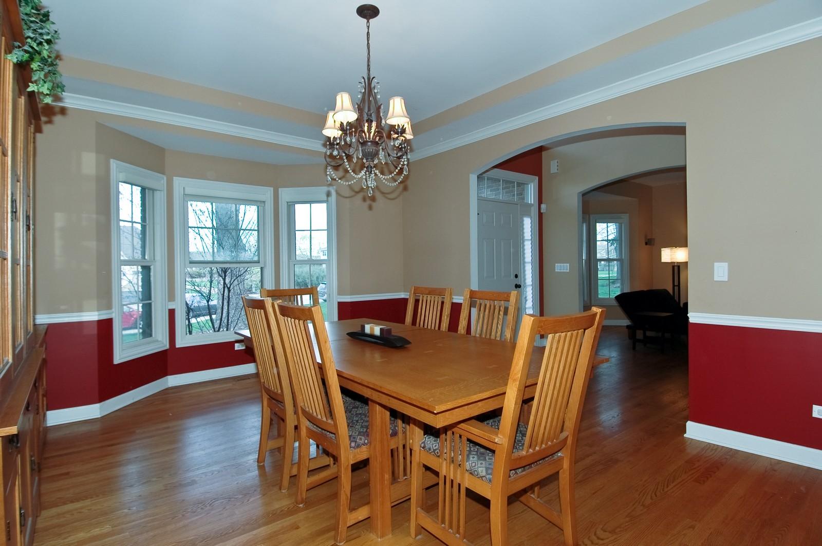 Real Estate Photography - 10575 Oakleaf Lane, Huntley, IL, 60142 - Dining Room