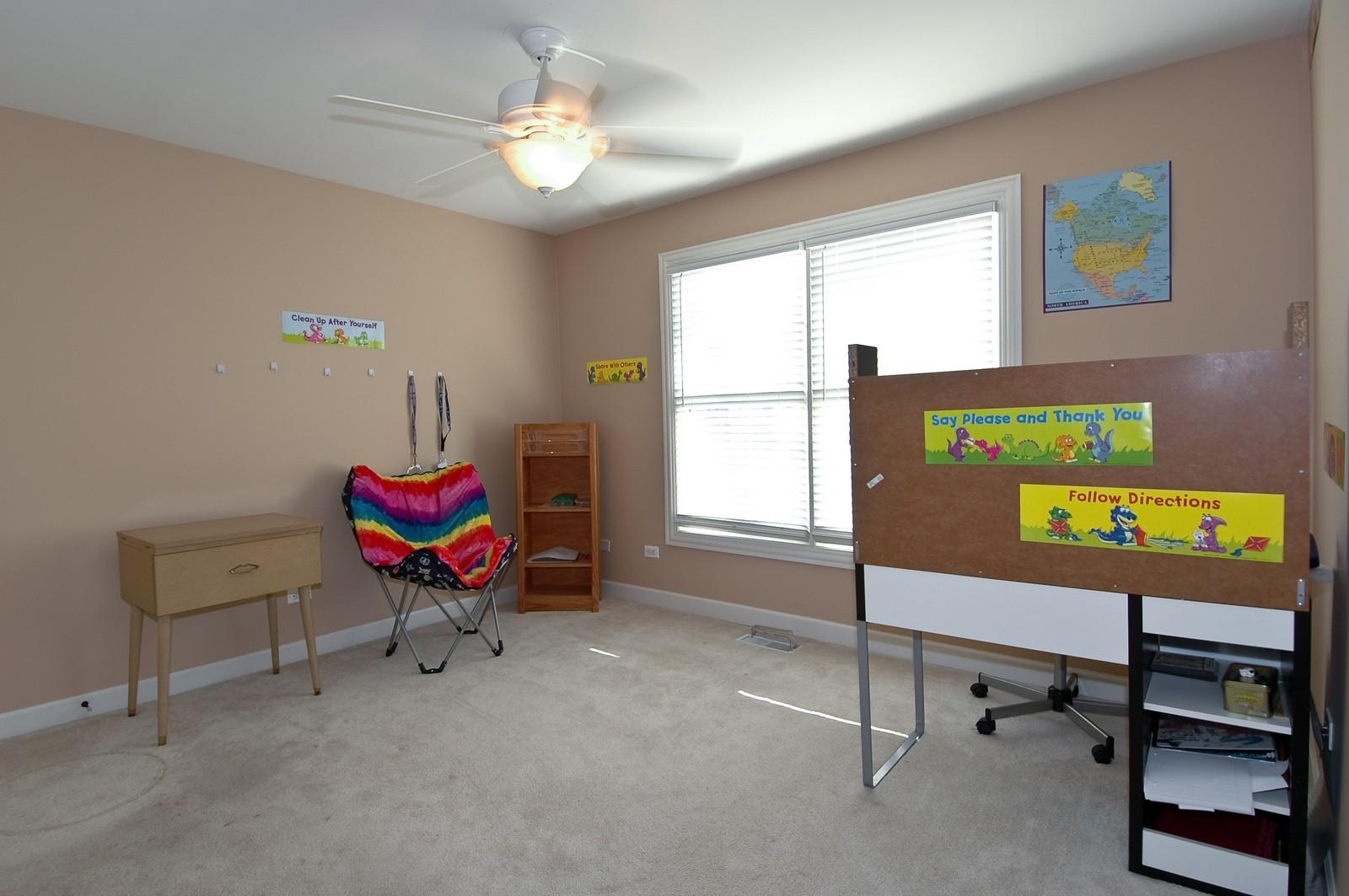 Real Estate Photography - 10575 Oakleaf Lane, Huntley, IL, 60142 - Bedroom