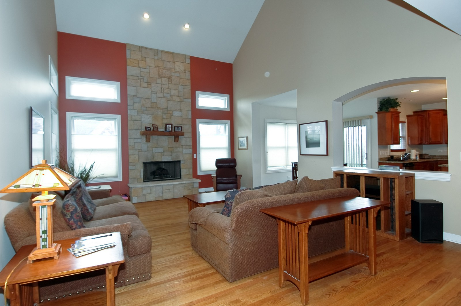 Real Estate Photography - 10575 Oakleaf Lane, Huntley, IL, 60142 - Family Room