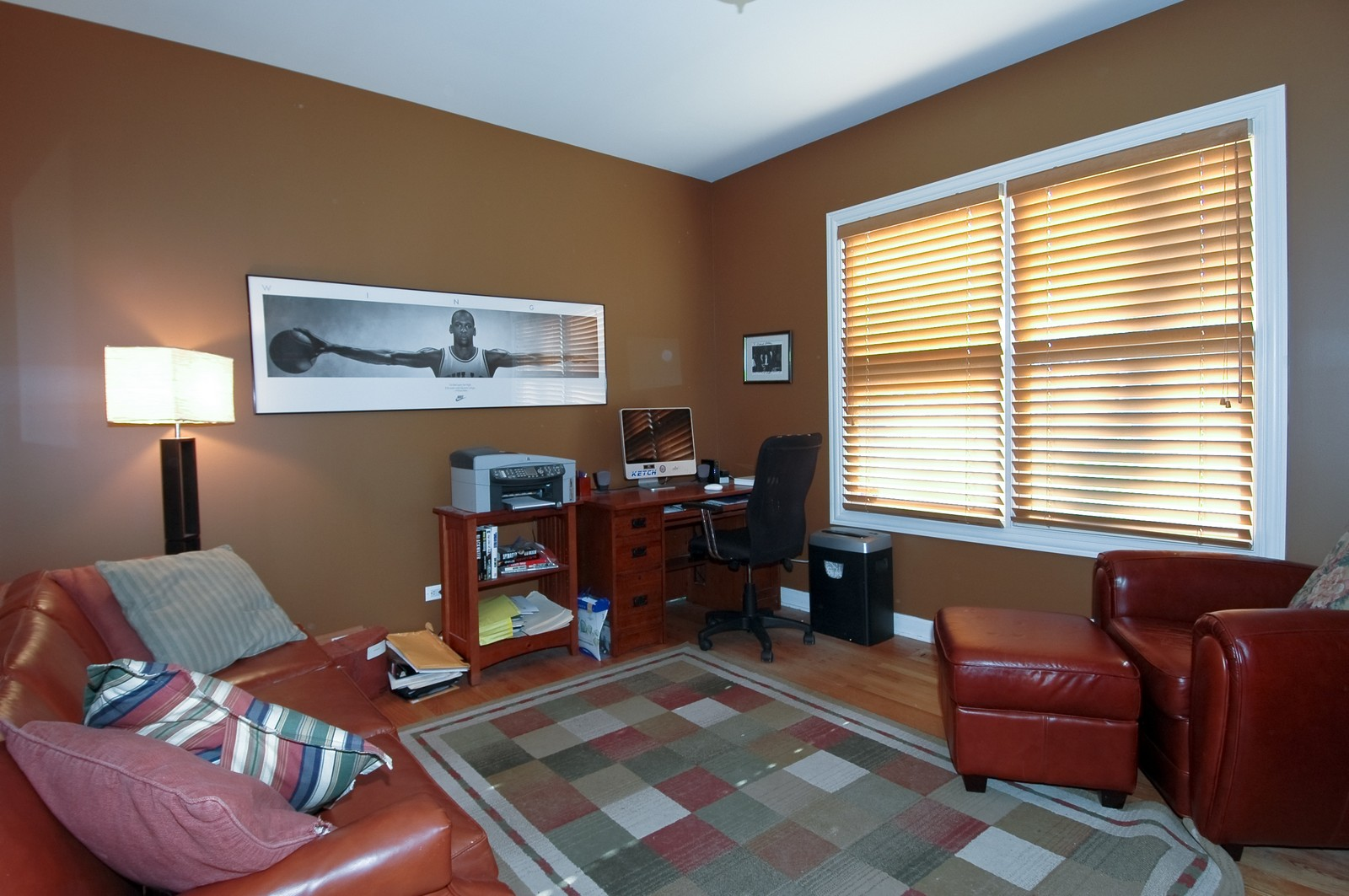 Real Estate Photography - 10575 Oakleaf Lane, Huntley, IL, 60142 - Den