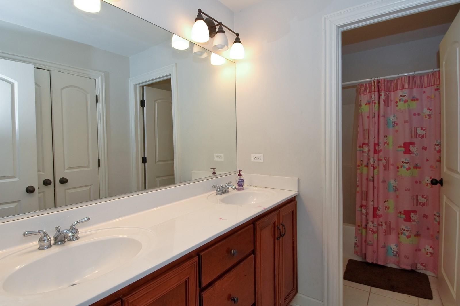 Real Estate Photography - 10575 Oakleaf Lane, Huntley, IL, 60142 - Bathroom